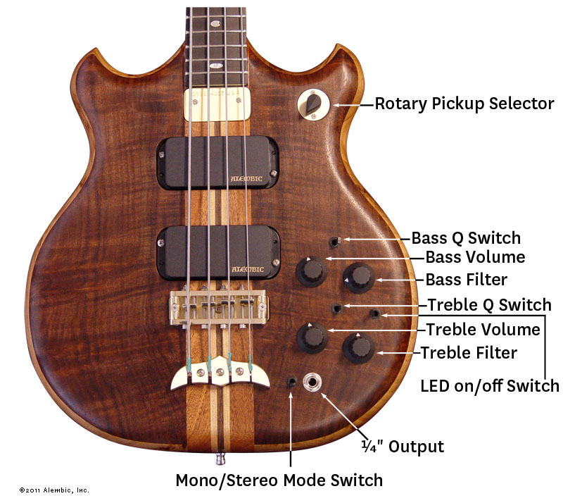 Brown Bass Controls