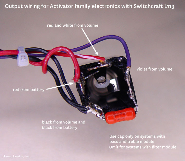 Switchcraft 113L wiring
