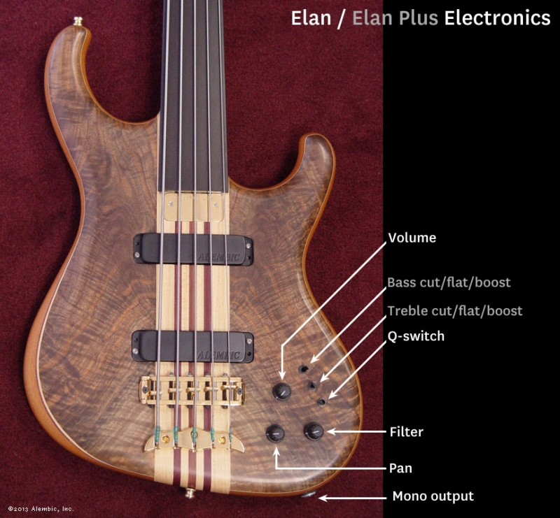 Elan and Elan Plus Layout