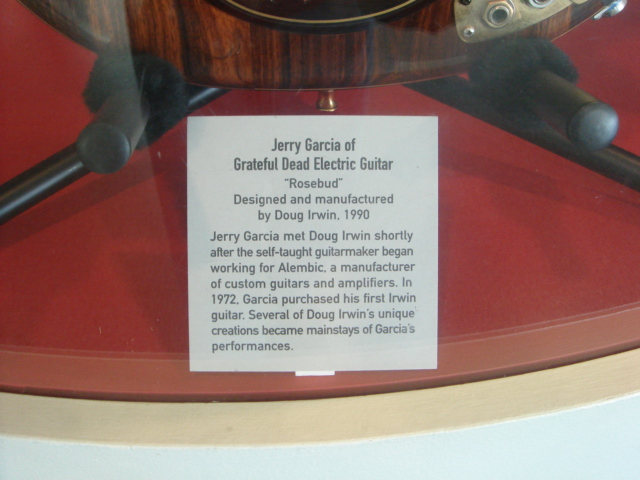 Jerry Garcia Guitar Placard