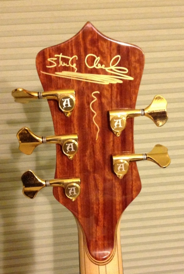 signed sc headstock