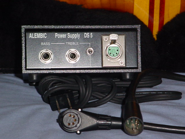 power supply & five -pin cable