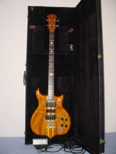 bass, case, power supply,& five-pin cable