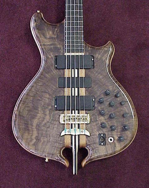 series bass w/treble/bass controls.
