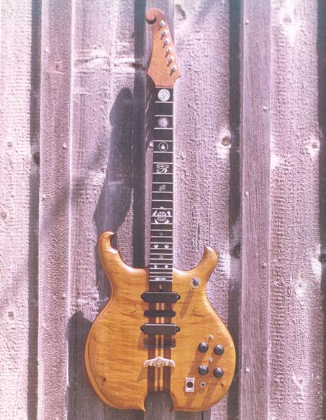 santana's guitar