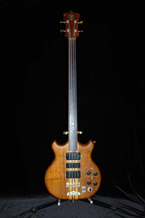 here is the fretless