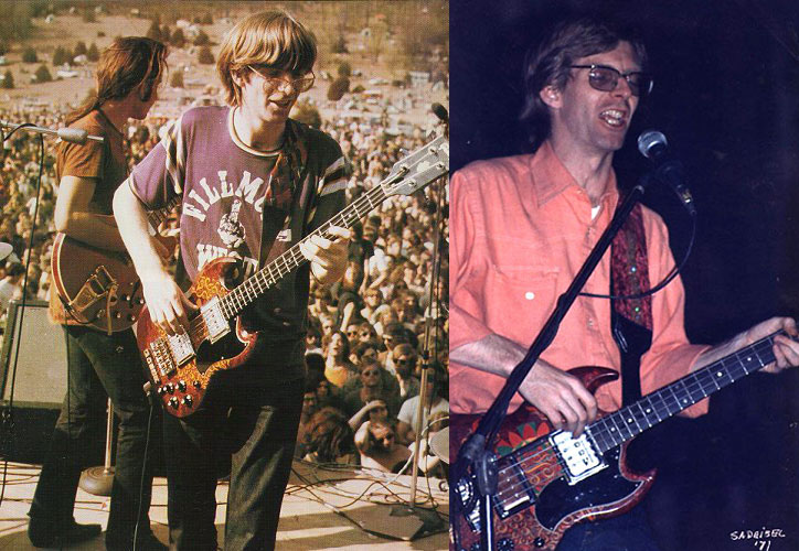Phil Lesh with Gibson EB-3