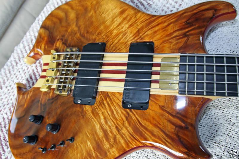 Mark King Custom Koa 5 String