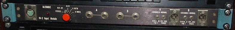 the pre-amp