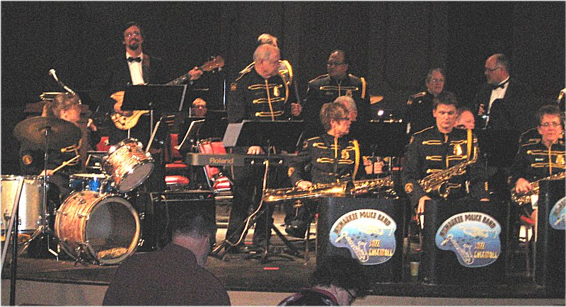 Milwaukee Police Jazz Band at the Pabst Theater
