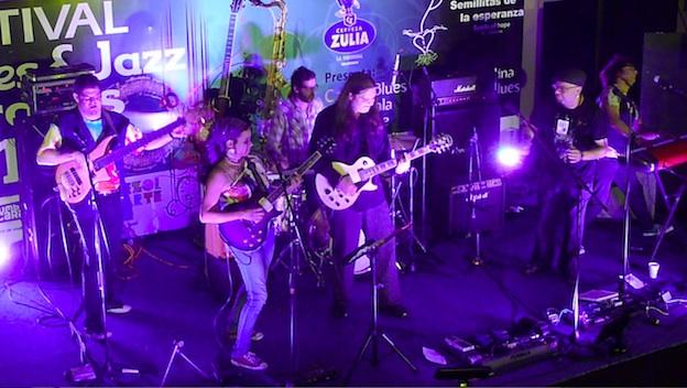 JazzBluesfest 2012 group