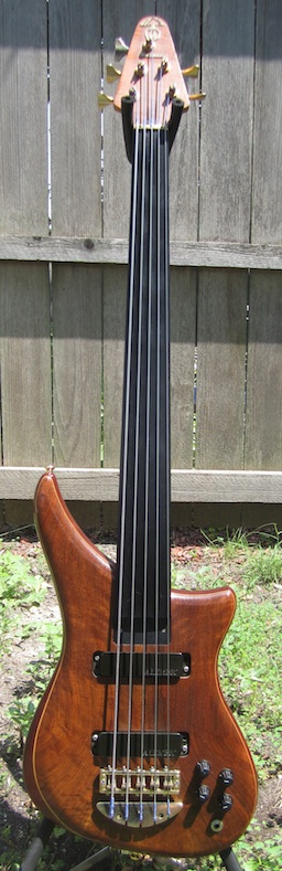 Epic 5 string fretless