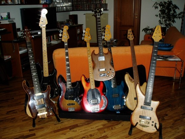 All my Basses