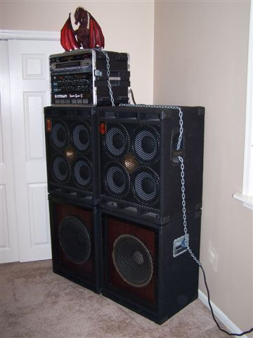 Custom speaker cabinet