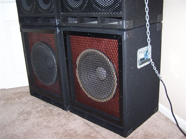 Custom speaker cabinets