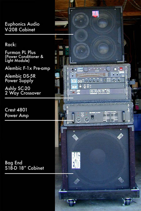 My bass rig
