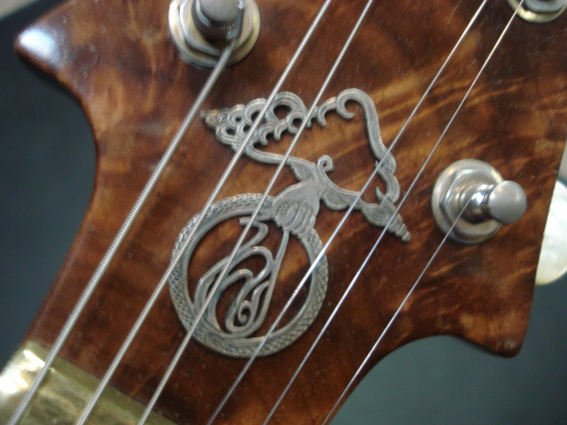 Headstock Decal