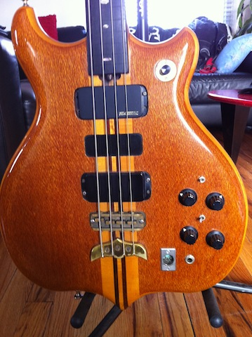 vintage 1975 series 1 long scale fretless#248