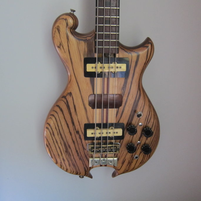 mark johnson bass close up