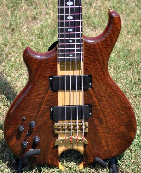 Lefty Alembic Body Front