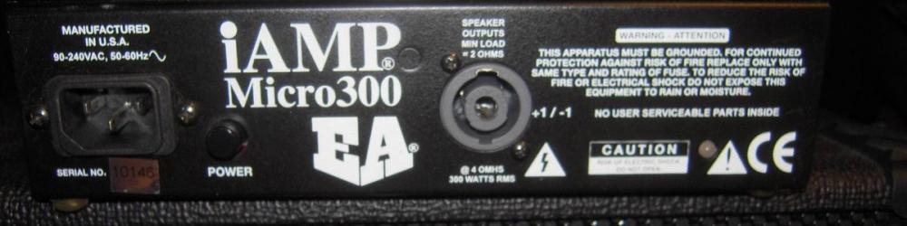 iAMP 300 Back