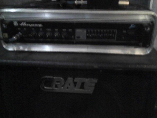 Ampeg B2R front