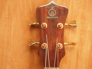 1990 Alembic Series 1 (headstock)
