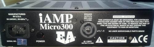 iAMP Micro 300 Rear