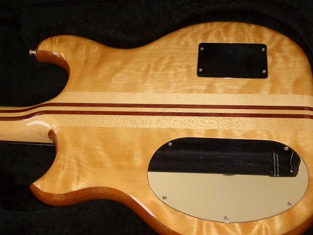 Quilted Maple Back Side