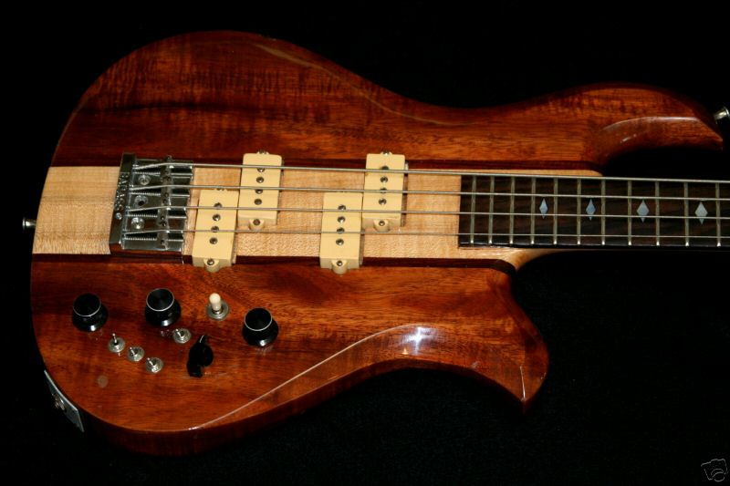 '81 Maple Neck/Koa Wings