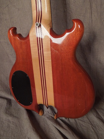 Scorpion 5 string Bass Body Rear