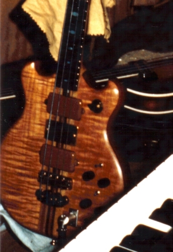 Jeffs Brown Bass Picture #2 - 1975 or '76