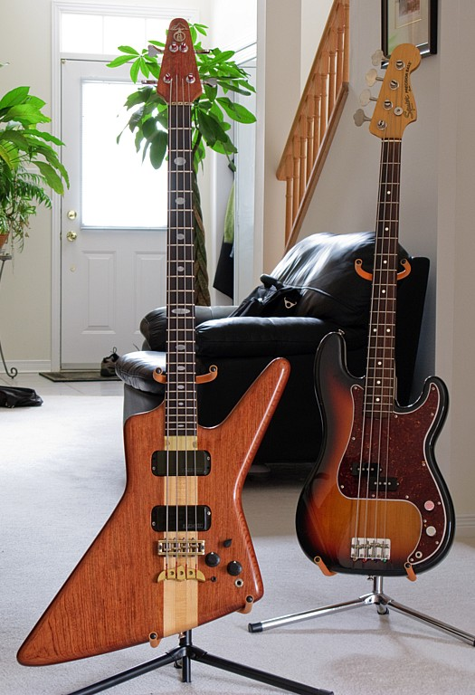 My basses