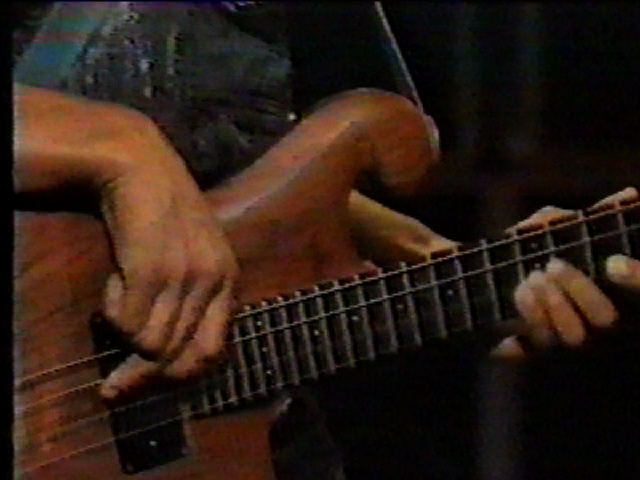 Close up of Carl Thompson Bass