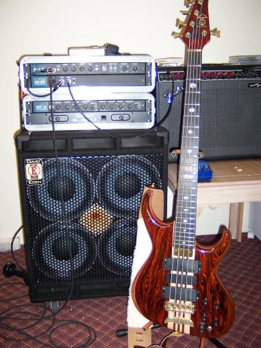 Europa 5 String w/ Series I Electronics