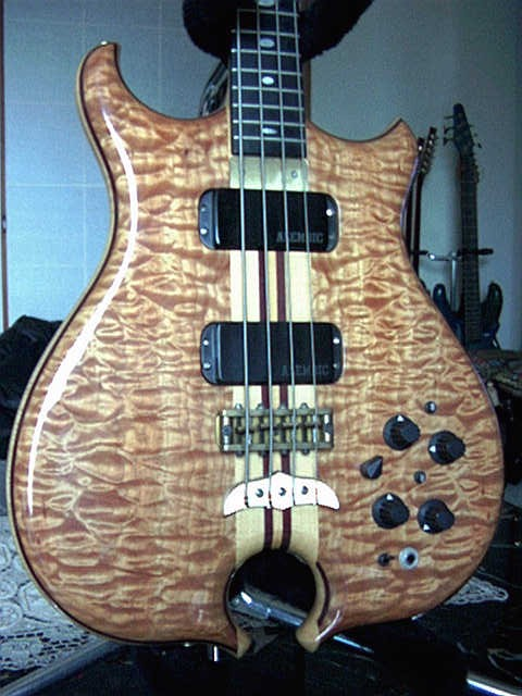 body with quilt maple