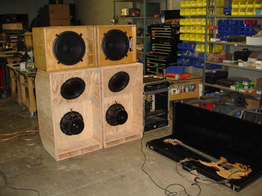 Bass rig front
