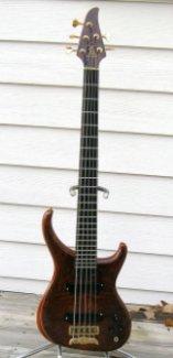 My 5 string: