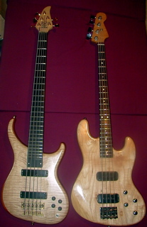 my electric basses