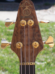 Headstock Front: