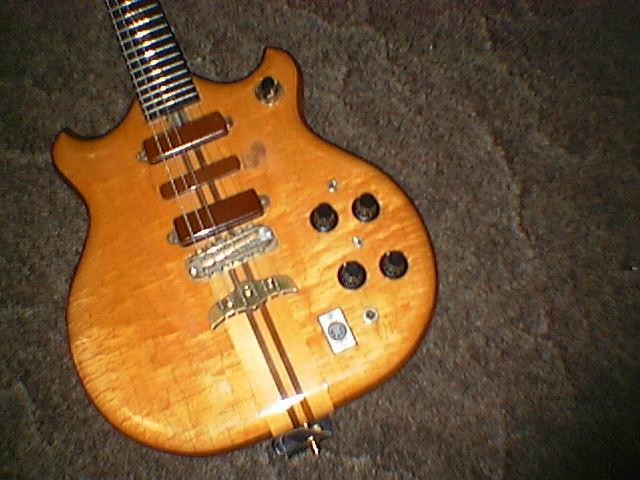 1975 Series I guitar s/n:75-139