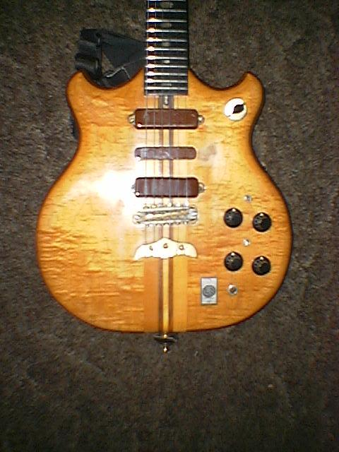Series I guitar s/n#75-139 pic2