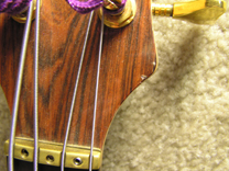 Lower headstock ding