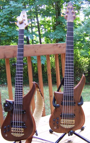 Kimberly's Five and Six String Epic's