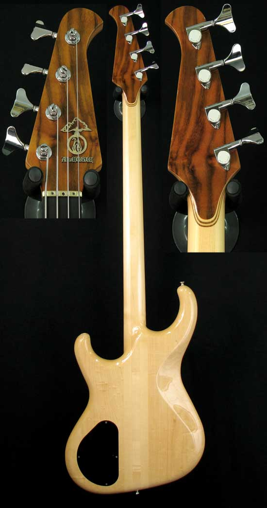 Elan rear and headstock