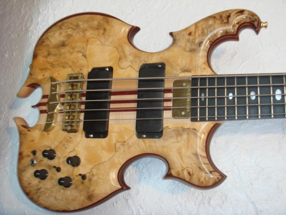 My 2003 MJ 5'er in Buckeye Burl