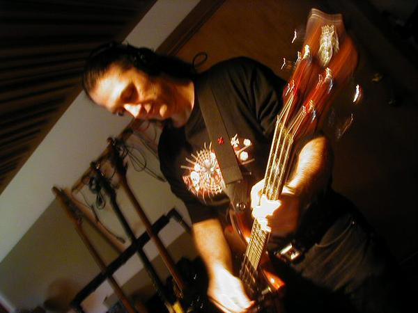 recording bass tracks