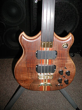 Brown Bass front close