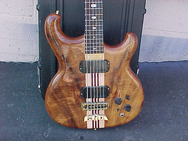 1987 ALEMBIC SPOILER SIX STRING BASS GUITAR