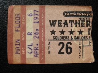 WeatherReport1977